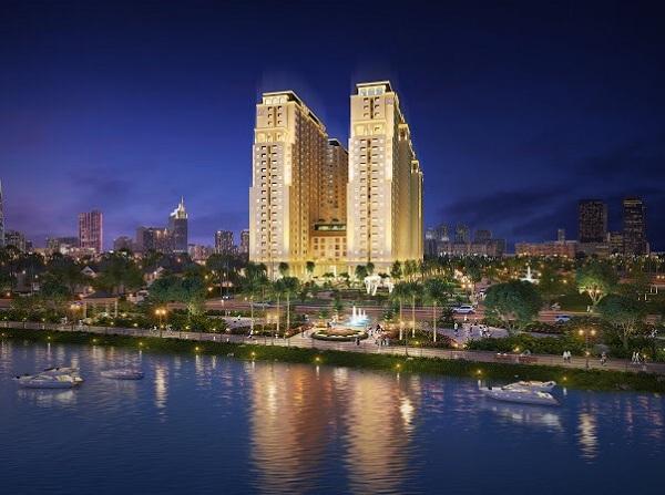 Khu cao ốc ven sông đẳng cấp Châu Âu tại Tây Nam Sài Gòn